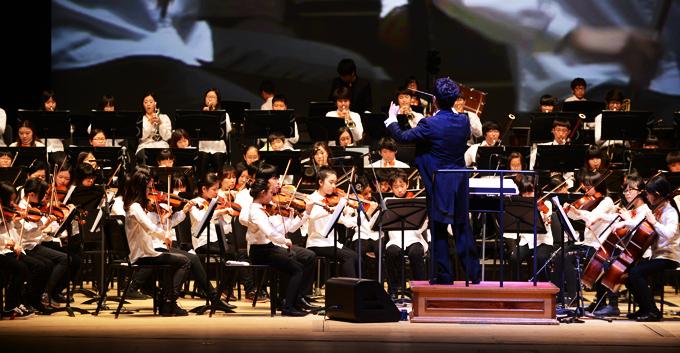 2013년 2월 꿈의 오케스트라 합동공연