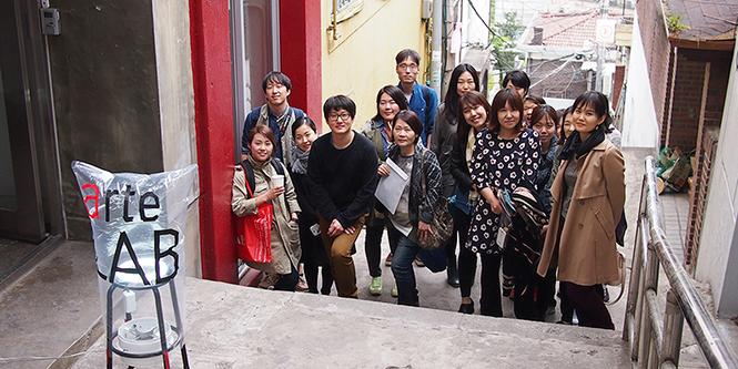 길종상가 창의력 배우기 참여자 단체 사진