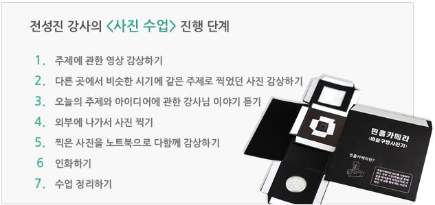 전성진 강사의 사진 수업 진행 단계