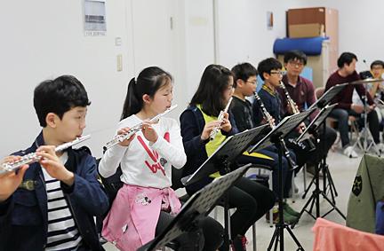꿈의오케스트라성북_연습장면