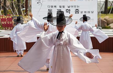 [5.16] 부산: 시민과 함께하는 문화마당 '학춤 그리고 인문학' @부산시민공원