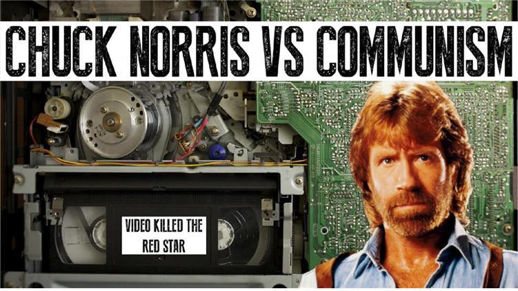 척 노리스 vs 코뮤니즘