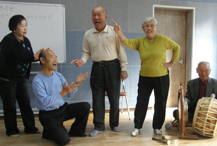 2010 노인 복지기관 문화예술교육 지원사업