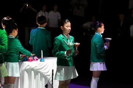 거제 창호초등학교 어린이 공연