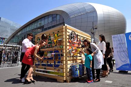 [5.21~27] 예술 퍼포먼스: 아트큐브 – 광주 북구문화의집의 나무 놀이터 큐브
