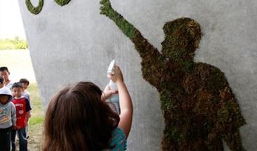 거리에 피어난 예술